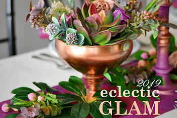 Eclectic Glam, Styling